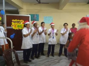 The Child Health Nursing 'Department of PCON Celebrated Christmas.