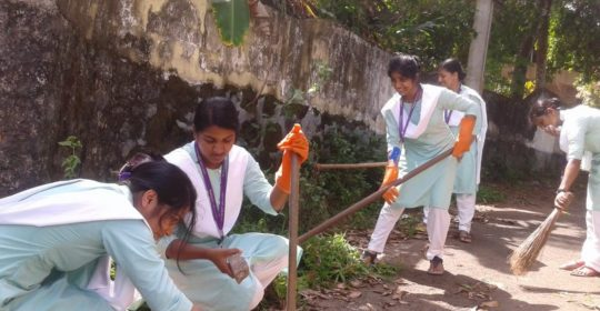 CLEAN CAMPUS GREEN CAMPUS AND THE CLEAN VILLAGE GREEN VILLAGE CAMPAIGN (November 2018)