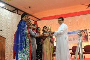 SNA/ COLLEGE UNION Arts fest of Pushpagiri College of Nursing for the academic year 2018 – 2019